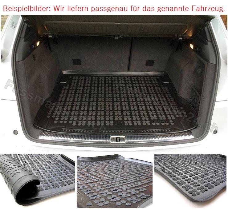 Renault GRAND SCENIC IV  Gummi-Kofferraumwanne Gummi-Kofferraummatte