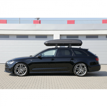 Auto Dachbox, 480 Liter - Nero Carbon